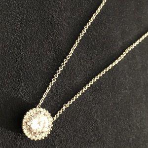 Silver Sunburst Necklace
